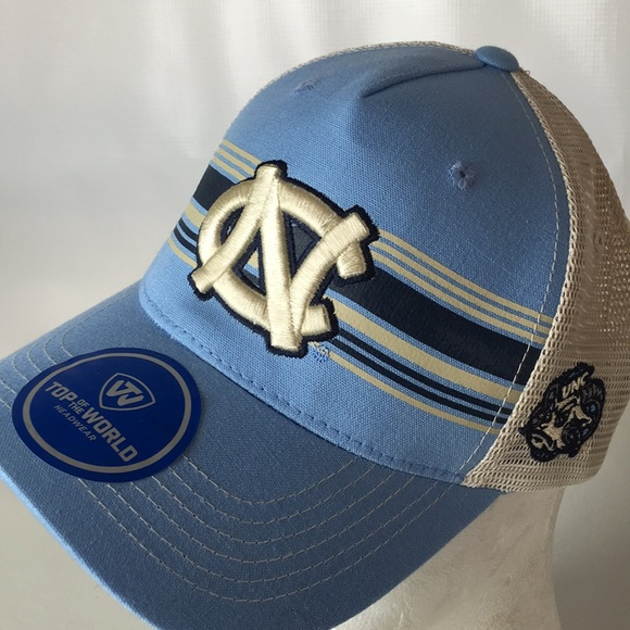 best service afd20 84d16 North Carolina Tarheels Truckers Hat SnapBack UNC. NWT. Top of the World